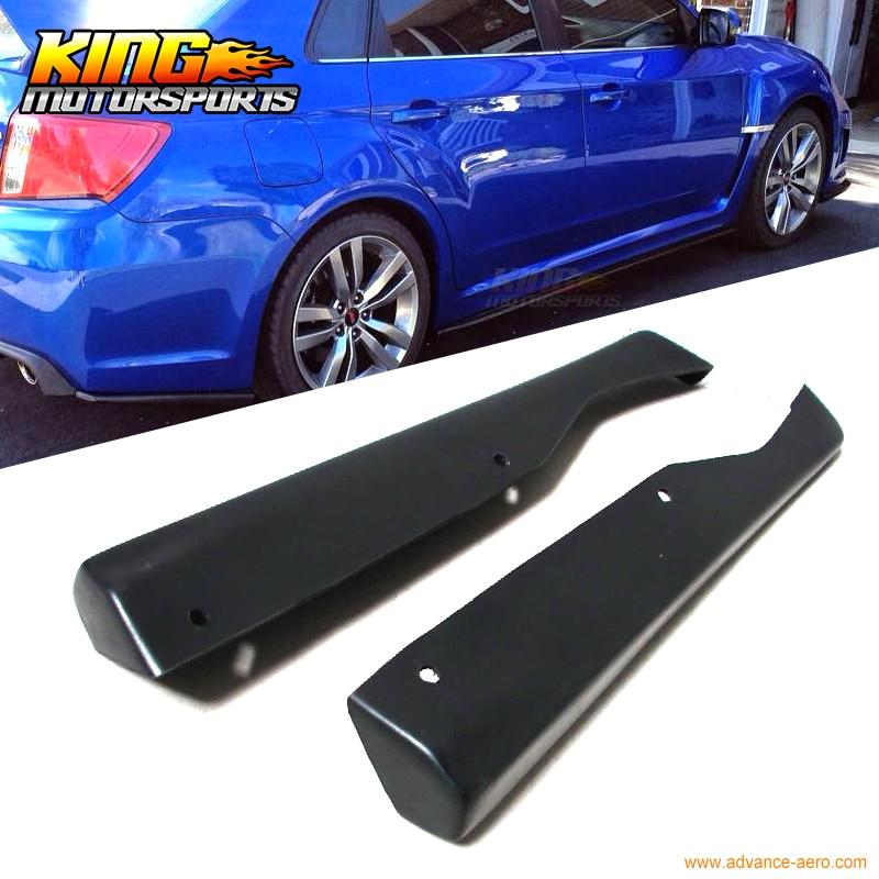 Fit For 11-14 Subaru Impreza WRX STI HT Style Rear Lip Apron - Polyurethane (PU) USA Domestic Free Shipping subaru impreza wrx sti самара продаю