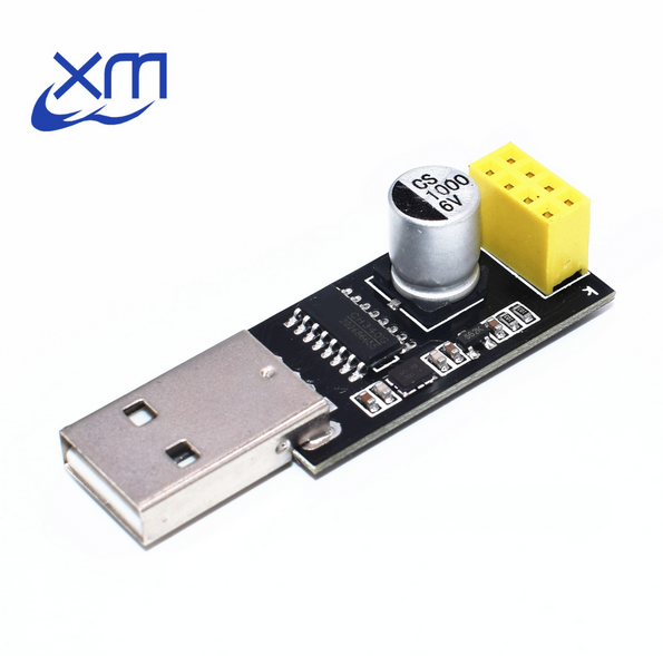 1pcs USB to <font><b>ESP8266</b></font> Serial Wireless <font><b>ESP8266</b></font> breadboard <font><b>Adapter</b></font> Wifi Module Developent <font><b>Board</b></font> with ESP01 8266 Wifi Module B63 image