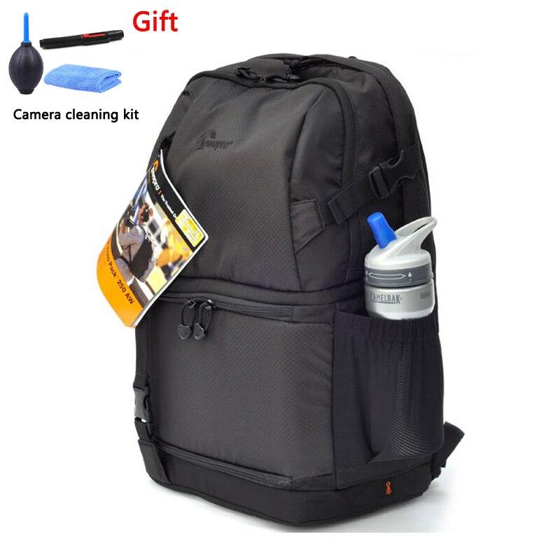 FAST SHIPPING Lowepro DSLR Video Fastpack 250 AW DVP 250aw SLR Camera Bag Shoulder Bag 15