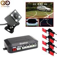 16MM Original Flat Sensors For Auto Parking Monitor Car DVD Player Car Video Parking Sensor With LED Rear View Camera