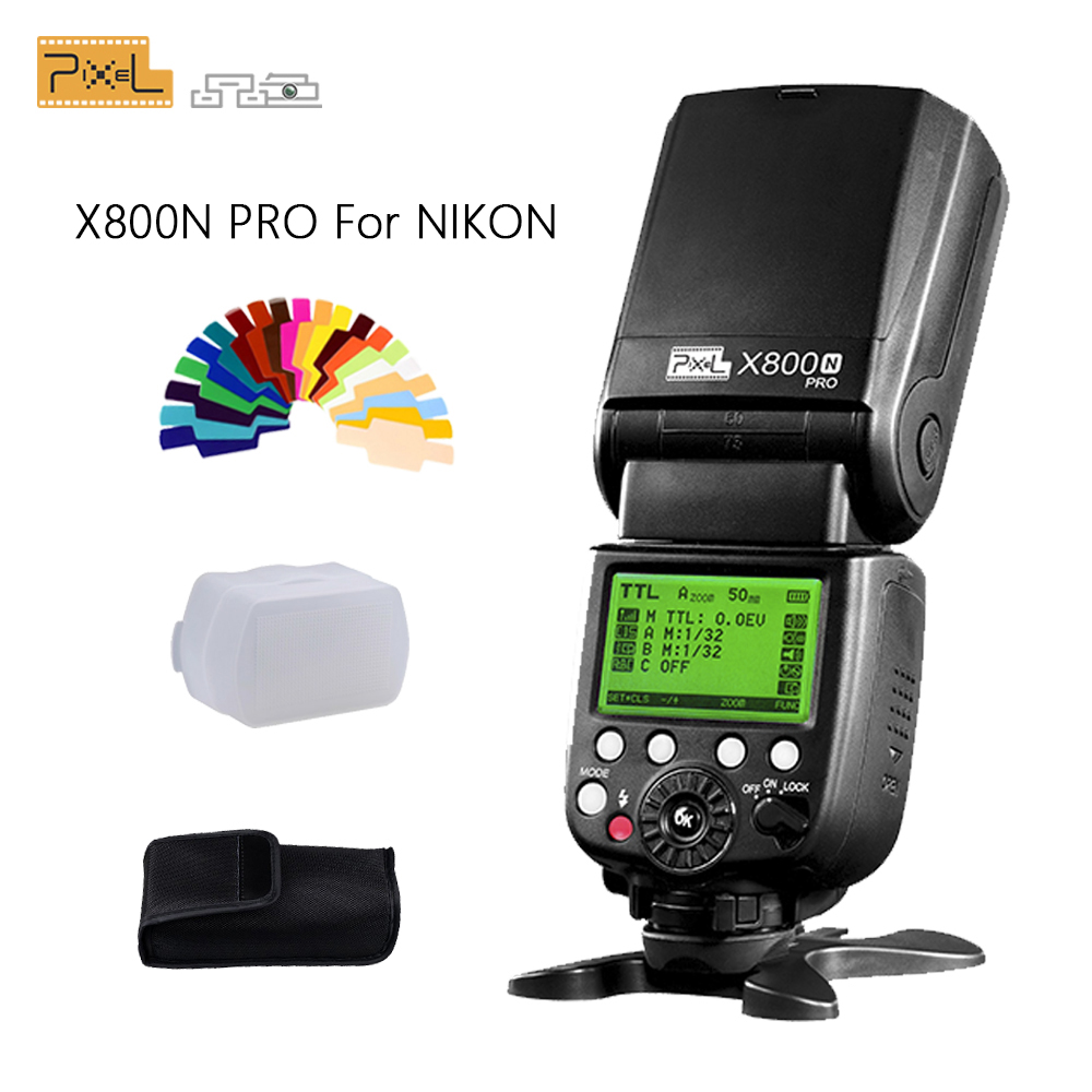 Pixel X800N Pro Flash Speedlite For Nikon d7100 d3100 d5300 d7000 d90 d750 ITTL HSS High Speed Sync External Flashgun Vs YN568EXPixel X800N Pro Flash Speedlite For Nikon d7100 d3100 d5300 d7000 d90 d750 ITTL HSS High Speed Sync External Flashgun Vs YN568EX