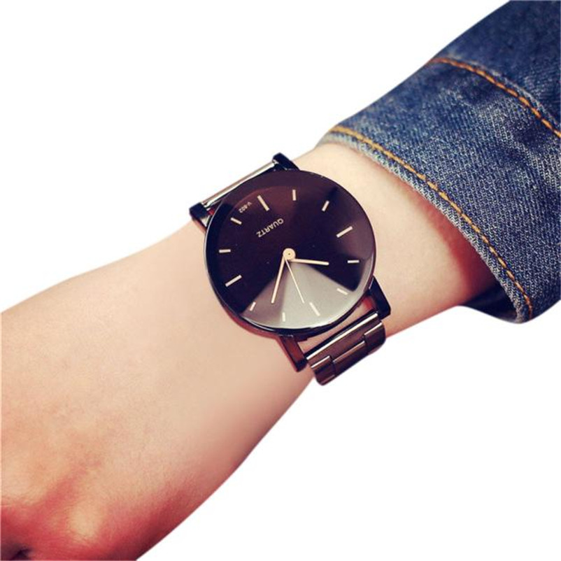 luxury brand watches women fashion beauty crystal table casual female quartz wrist watch Stainless Steel Band Quartz Analog Wris concept of vortex female student individuality creative watch han edition contracted fashion female table