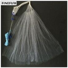 Finefish без грузило ролях чистая США Стиль рука бросить рыболовной сети маленьких сетки ловить рыбу сети мононити охоты жаберного