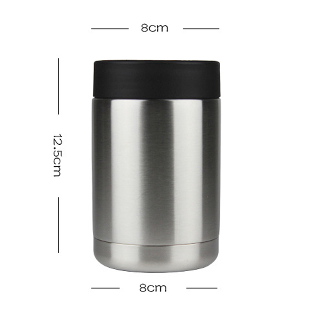 RVS Bierfles Cooler Blik/Fles Houder Dubbelwandig Vacuüm Geïsoleerde Bierfles Koeler Bar accessoires 1