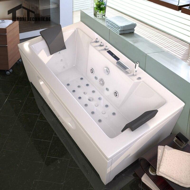 1700mm wolnostojca wanna prysznic z hydromasaem spa masa powietrzny hidromasaje piscine jacuzzi 2 osoby wanna akrylowa