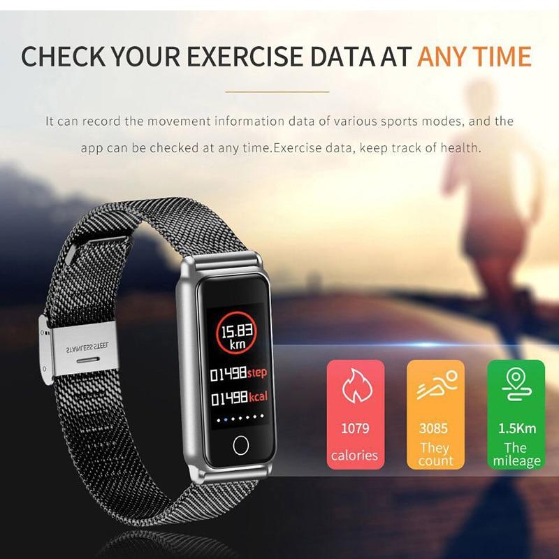 Y8 Smart Bracelet Women Sport Watch Men Fitness Tracker Smartwatch Waterproof Heart Rate Blood Pressure Monitor Wristband Band