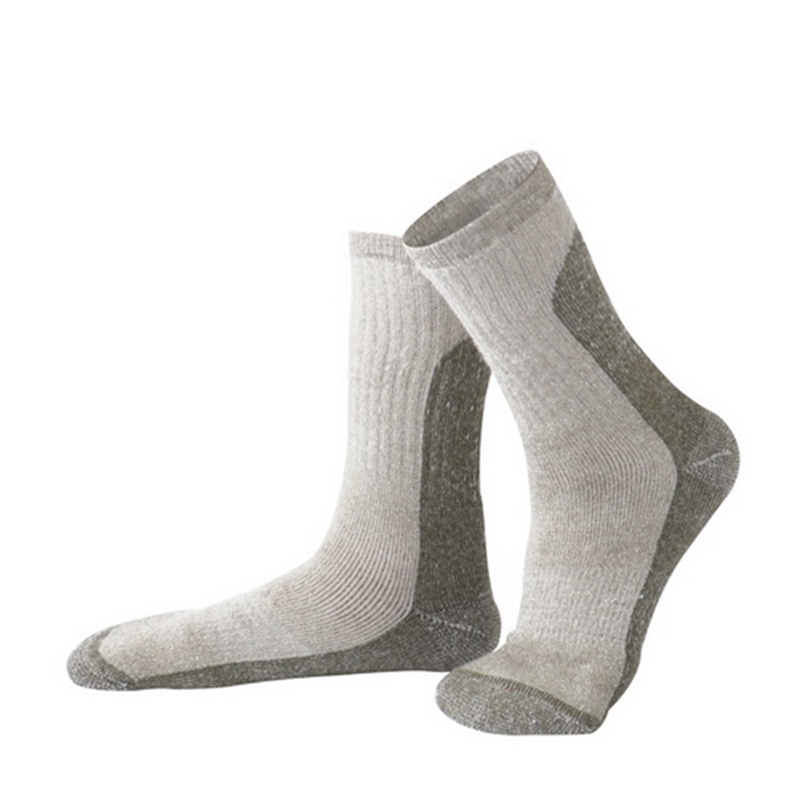 R-BAO One Pair Winter Brand Thicken Wool Outdoor Climbing Hiking Ski Socks Camping Keeping Warm Sports For Women Men