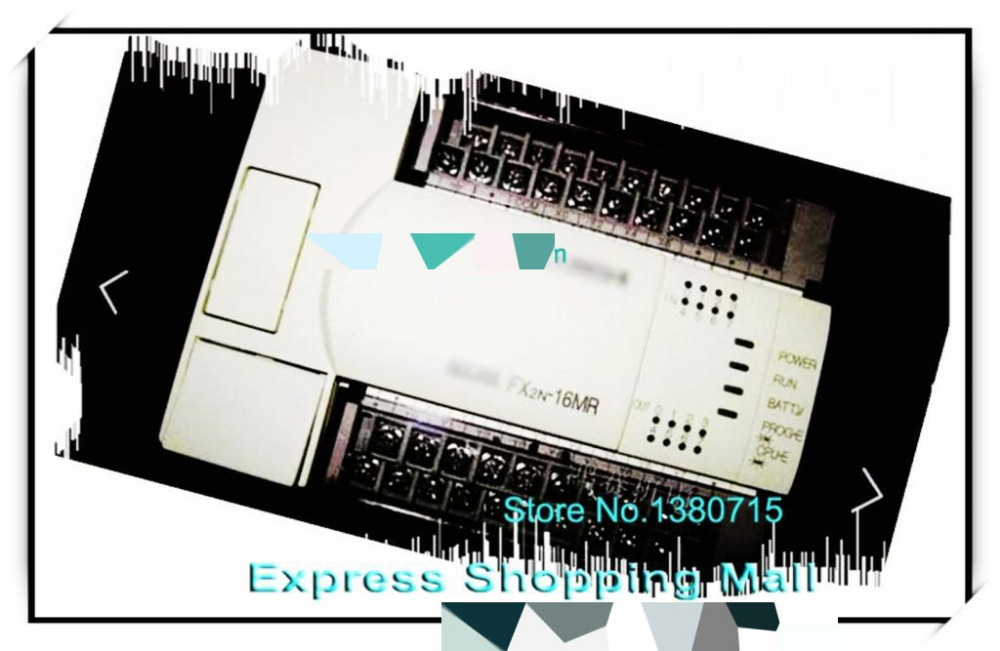 NEW FX2N-16MR-001 PLC Main Unit DI 8 DO 8 Relay AC 220V fx2n 16mr 001 di 8 do 8 relay unit 8 inputs 8 outputs plc