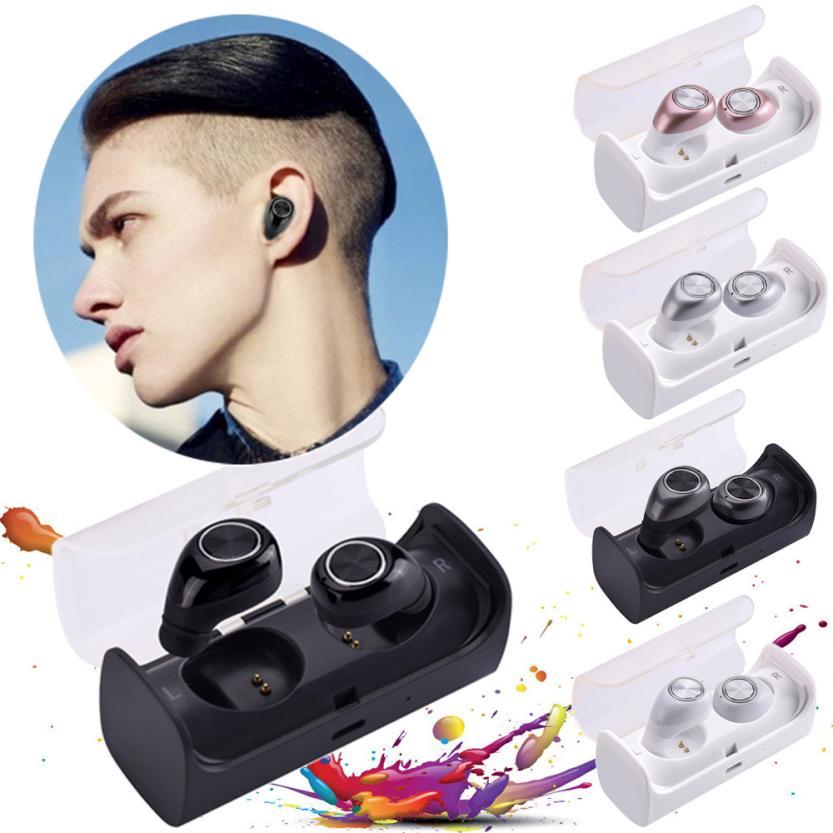 High Quality Mini TWS Wireless Bluetooth 4.2 Stereo Headset In-Ear Earphones Earbuds Wireless Bluetooth Headphone for Cell phone portable stereo headphone mini invisible wireless bluetooth v4 1 surround sound earbuds earphones in ear headset with microphone
