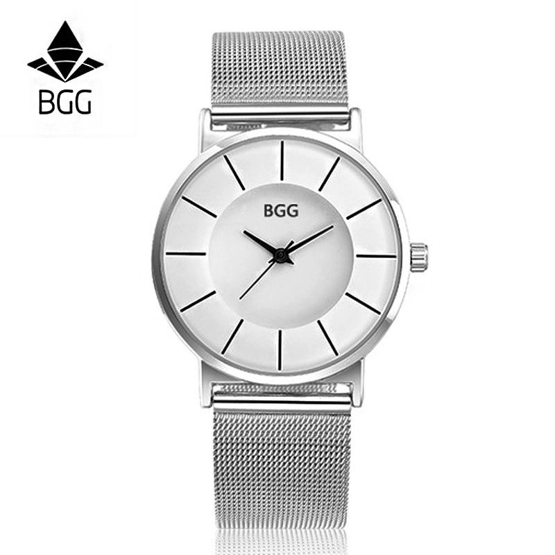 BGG Relojes de Las Mujeres de Lujo Marca de Moda de Cuarzo Señoras - Relojes para mujeres