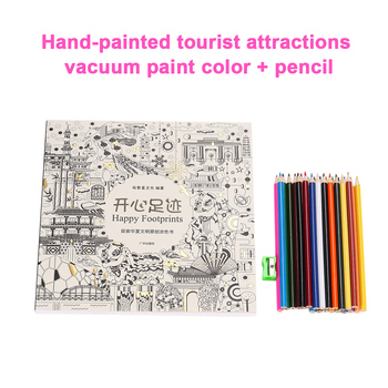 W/especialidad lápices para colorear libros Graffiti libro libros de ...