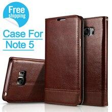 Idools бизнес кожаный чехол для Samsung Galaxy Note 5 принципиально с подставкой и слот для карты телефон случаях крышка для Galaxy Примечание 5 Coque