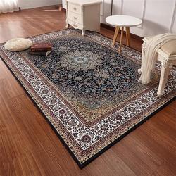 Perskie dywany dla pokoju gościnnego duża 200x290CM dywan do sypialni klasyczne turcji dywan do domu  do kawy stół mata podłogowa badania dywan do składania w Dywany od Dom i ogród na