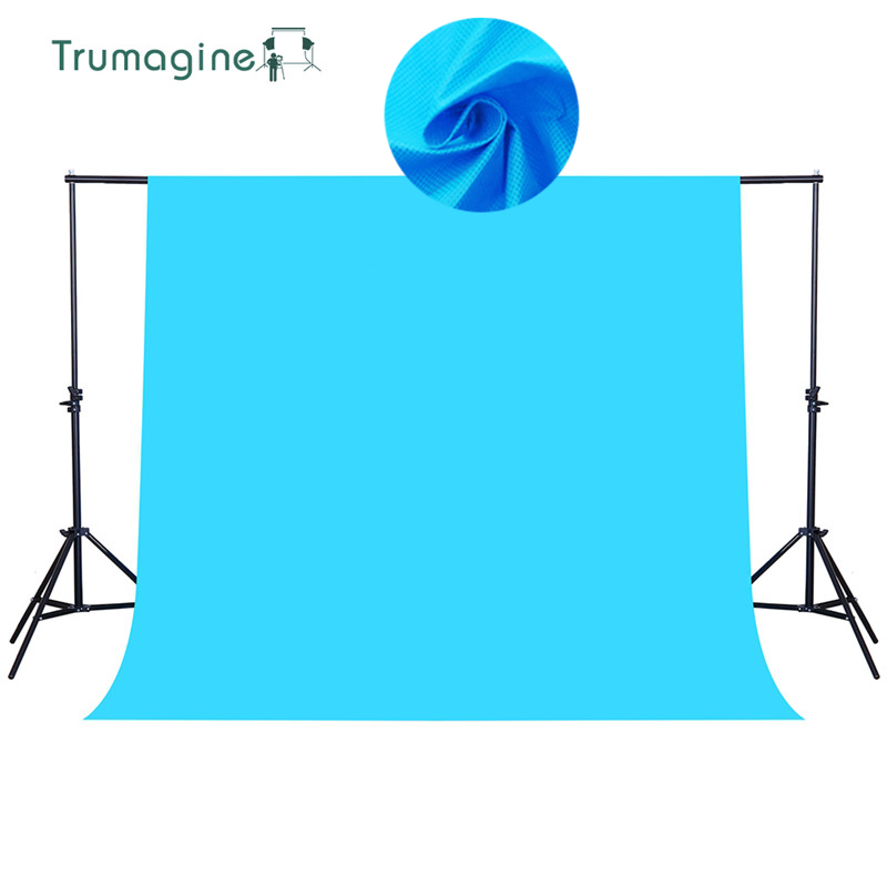 1.6*4M/5.2*13Ft Blue Shoot Screen PHOTO BACKGROUND Backdrop Non Woven Chroma key Background For Fotografia Photography Studio supon 6 color options screen chroma key 3 x 5m background backdrop cloth for studio photo lighting non woven fabrics backdrop