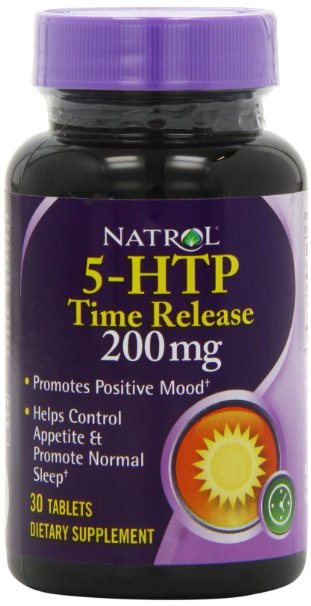 ФОТО Natrol 5-HTP TR Time Release, 200mg, 30 Tablets