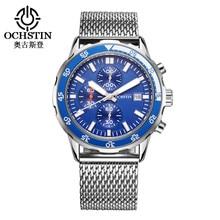 купить Relojes Hombre Watch Men Waterproof Quartz Calendar Watches Horology Mens Stainless Steel Strap Wristwatch Horloge по цене 1499.02 рублей
