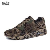 Camouflage Unisex Shoes Slipony Men Shoes Height Increase Male Comfort Footwear Plus Size 35 46