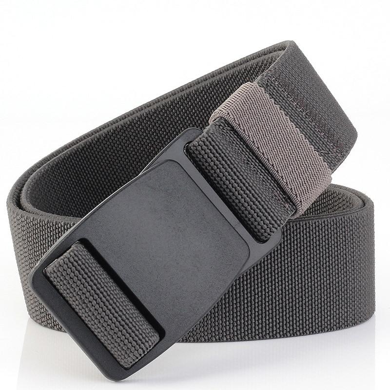 2018 N men's canvas   belt   Metal insert buckle military nylon Training   belt   Army tactical   belts   for Men Best quality male strap