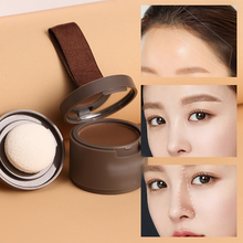 Water Proof hair line shadow powder in hair color Edge Makeup