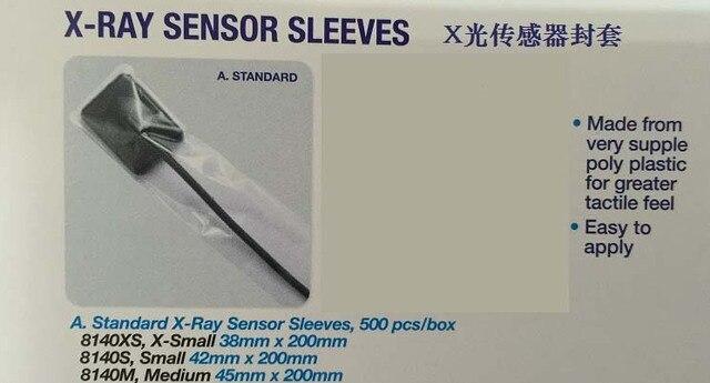 500pcs Dental Material Disposable Poly Pastic X-Ray Sensor sleeves mouth mirror sleeves