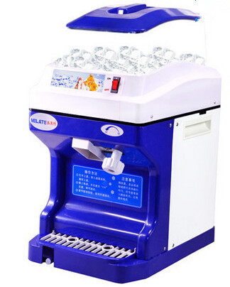 Electric shaved ice machine 180kg h crushed snow ice for Ice makers for sale