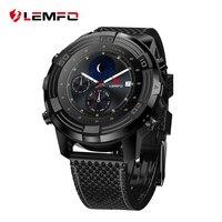 LEMFO LEM6 Android 5,1 Смарт часы телефон Водонепроницаемый gps трекер 1 ГБ + 16 ГБ Smartwatch со сменным ремешком