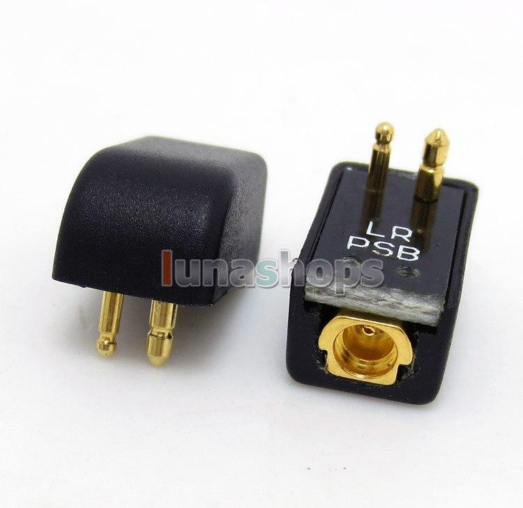 1 pair In Ear Earphone Pins Converter Adapter For Etymotic ER4B ER4PT ER4S ER6I To Shure