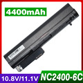 4400 mah bateria do portátil para hp compaq business notebook 2400 2510 p nc2400 nc2410 2533 t elitebook 2530 p 2540 p 404887-241 eh767aa