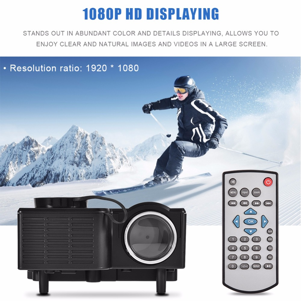 VBESTLIFE Mini portable LED Projector Home Theater Android Wifi 3D Support 4K HD Video Videoprojecteur Beamer newpal dlp projector full hd video mini 3d projector android 7 0 portable beamer support wifi miracast airplay dlna tf tv