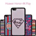 """Para huawei honor 4x play ultra-thin retro textura color cubierta case honor 4 xplay shell de la contraportada del silicio de la cubierta 5.5"""""""
