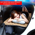 Car Back Seat Cover Car Air Matrress Travel Inflation Bed DHL free Shipping Inflatable Car Air Bed