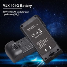 MJX X104G aircraft battery MJX 104G 3.8V 1500 mAh lithium battery brushless battery accessories toy helicopter battery airplane