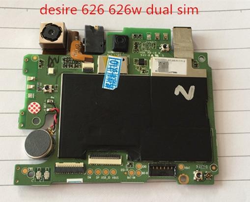 Original Motherboard For  desire 626 626w dual sim Mainboard Logic Board free shipping аксессуар защитная пленка luxcase for htc desire 626 626g dual sim 626g dual sim 628 антибликовая 53113