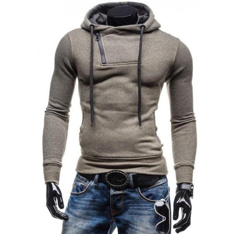 Men's Hooded hoodie sweatshirt men Casual Hoodies Cotton