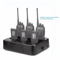 Retevis RTC777 Six Way Charger for Retevis H777 Baofeng 888S BF 888S Two Way Radio Walkie Talkie C9059A