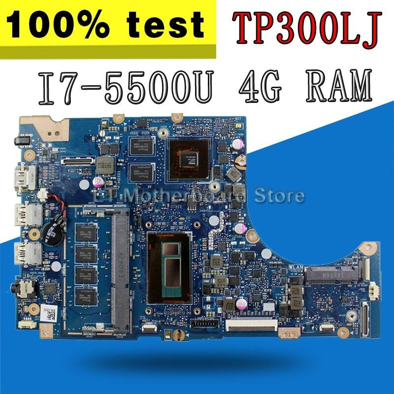 TP300LJ I7 5500U Процессор GT920M/2 ГБ 4 ГБ/Оперативная память для ASUS tp300la TP300LJ TP300 материнская плата для ноутбука TP300LJ плата 100% протестировал ok