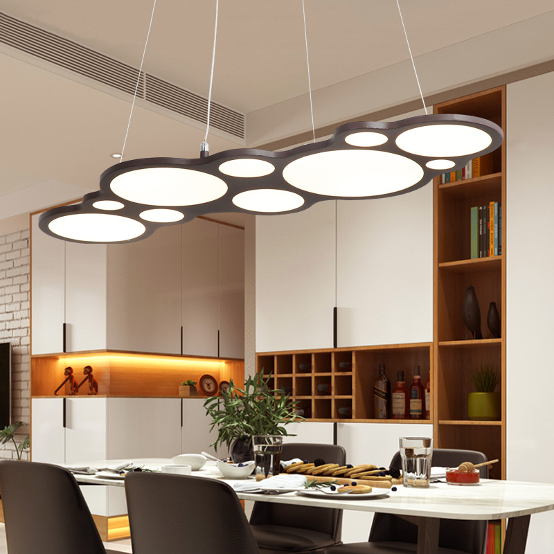 Brown/white bubbles led pendant lights for living room bedroom dining room kitchen hanging suspension pendant lamp fixtures