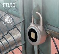 Anti theft electronic Bluetooth Fingerprint padlock for Fingerprint sensor Box Lock Padlock Keyless Door Lock