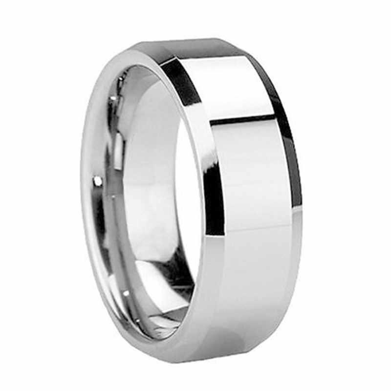 מגניב תכשיטי זהב/כסף/שחור מעטפת מרקם נירוסטה טיטניום טבעת גבירותיי טבעות גברים נשים מתנה לחתונה 2C0103