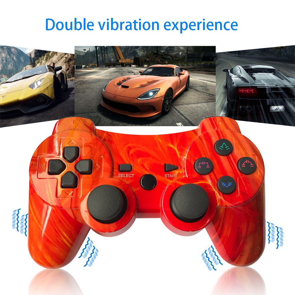Image 5 - For sony ps3 controller Wireless Bluetooth Gamepad For PS3 Controller game Joystick Playstation Double vibration Console ipega-in Gamepads from Consumer Electronics