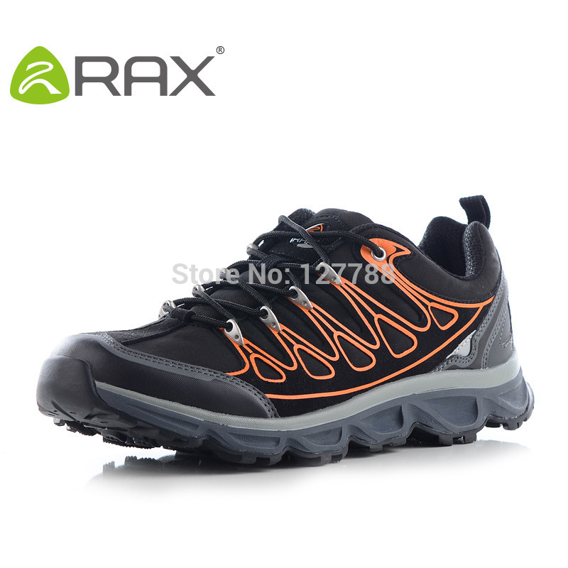 RAX Mountain Trekking Shoes Men Hiking Shoes Men Breathable Ultra-Light Climbing Sneakers Outdoor Sports Training Shoes D0540 rax summer hiking shoes men breathable outdoor sneakers antiskid trail mountain shoes women sports shoes durable climbing shoes
