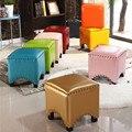 Американский кожаный стул  модная подходящая комната  диван  скамейка  обувь  табурет  домашняя гостиная  ПВХ  твердая древесина  Пирс