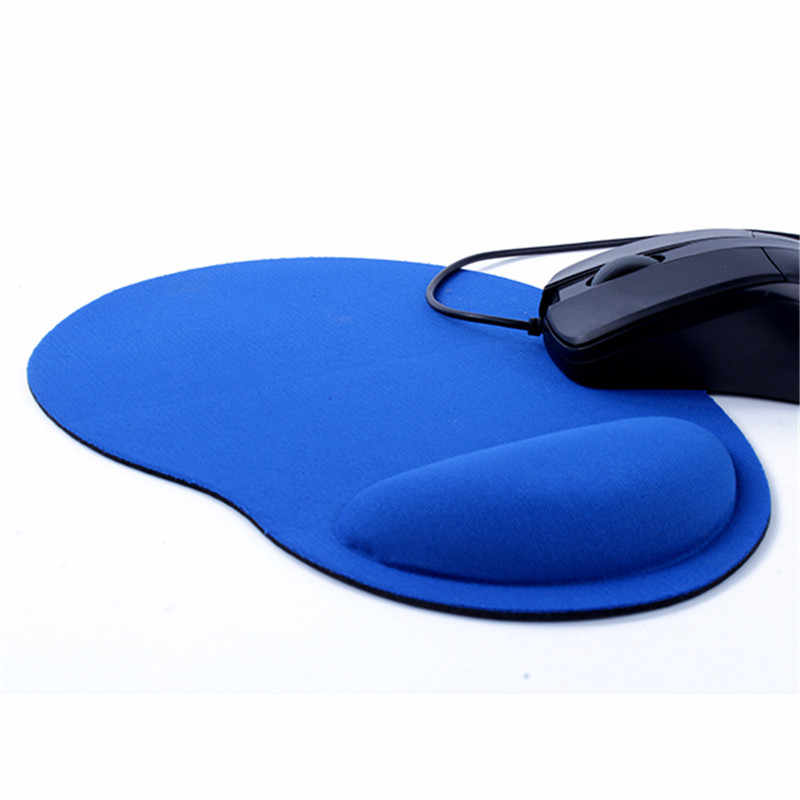 Цветная мышь колодки трекбол ПК утолщенный коврик для мыши с опорой для запястья геймерский коврик для мыши коврики для мыши Настольный ПК компьютер для офисной игры LOL