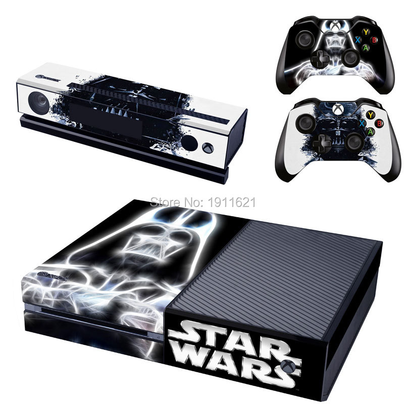 Star Wars For Xbox One Skin Sticker Vinly Skin Sticker For Microsoft Xbox One Console and 2 Controller Stickers Skin