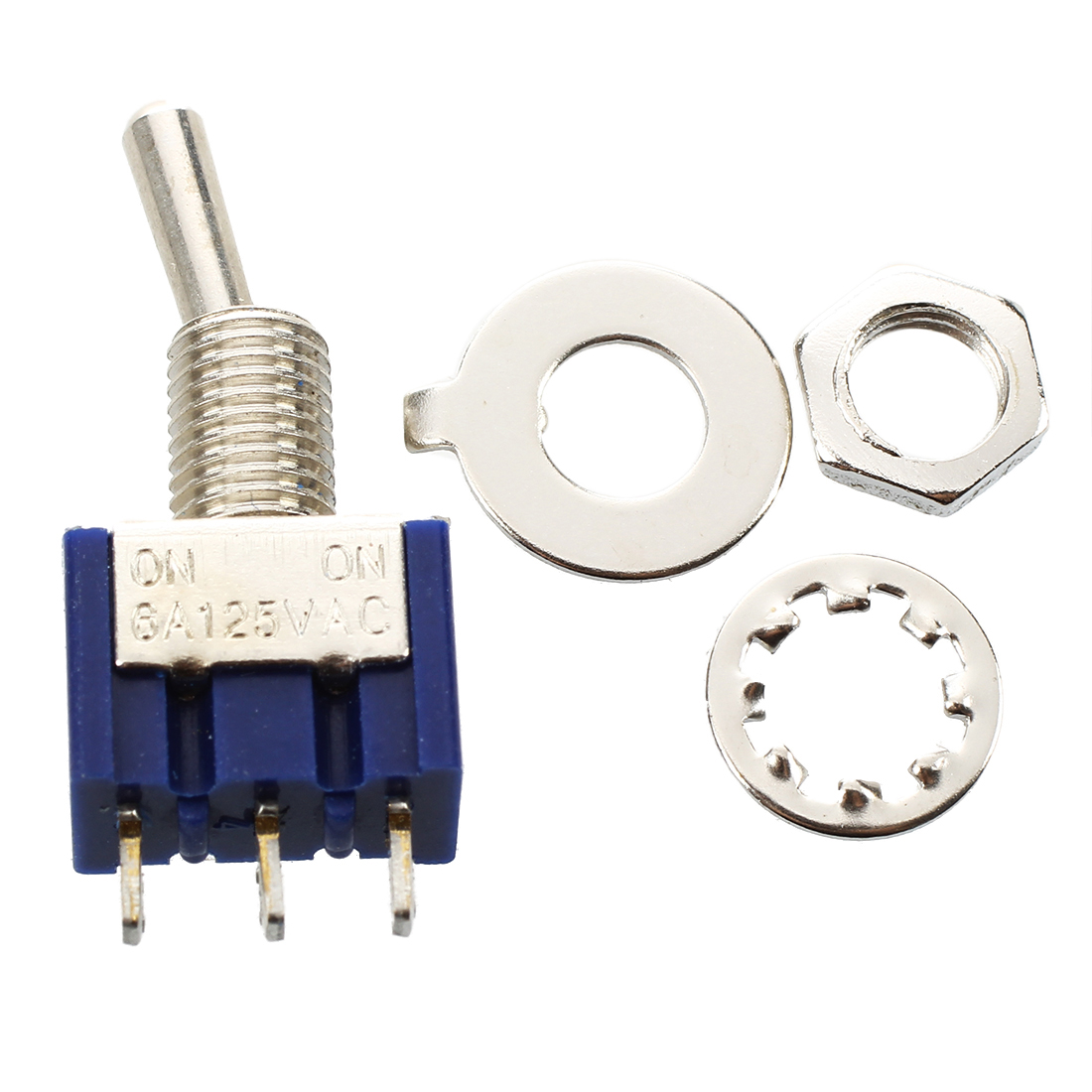 25x On-off Toggle Switch Spst Mts-101 6mm 1/4 Sub Miniature on Off B12 рулетка bahco mts 8 25