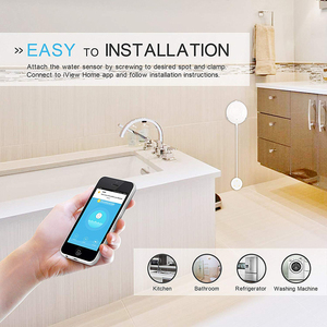 Image 3 - SMARSECUR Flood Leak Detector Alarm Sensor WiFi Water Sensor App Notification for Tuya Smart