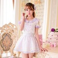 Princess sweet lolita skirts Candy rain princess new summer Japanese style Tall waist Braces skirt  C15AB5716