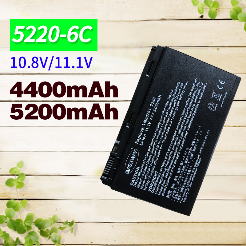 4400mAh <font><b>Battery</b></font> 5220 For <font><b>ACER</b></font> Extensa <font><b>5210</b></font> 5230 5420 5610 5620 5630 7220 7620 For TravelMate 5230 5320 5520 5530 5710 5720 image