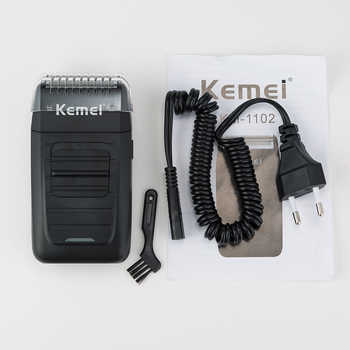 kemei 3D electric shaver men electric razor rechargeable floating beard shaver hair trimmer face care shaving machine