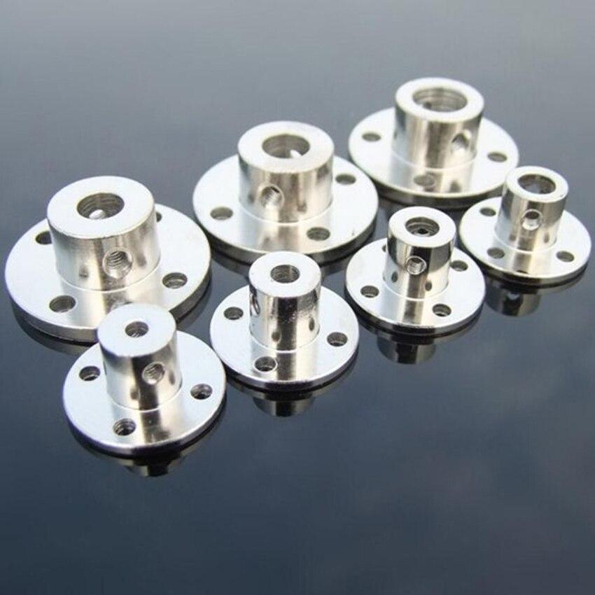 3//4//5//6//7//8//10mm Rigid Flange Coupling Motors Guide Shaft Coupler Connectors—QY